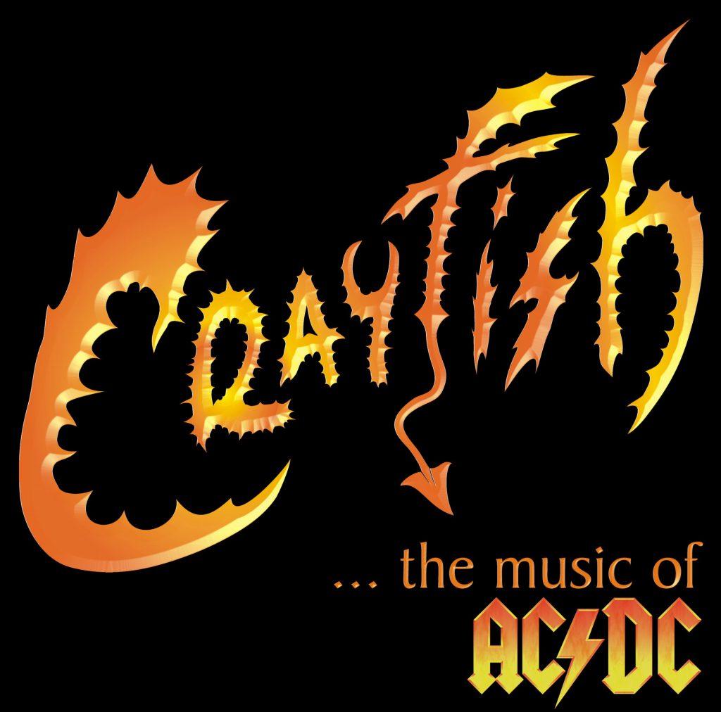 Crayfish Logo mit schwarzem Hintergrund